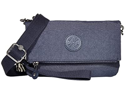 Kipling Lynne Convertible Crossbody Bag (Navy Blue Galaxy Twist) Handbags