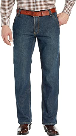 Rebar M4 Durastretch Workhouse Low Rise Bootcut Jeans in Phantom