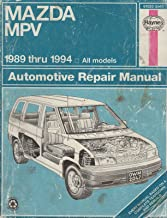 1989-1994 HAYNES MAZDA MPV AUTO REPAIR SERVICE 2047 (124)