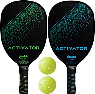 Franklin Sports Pickleball Paddles and Pickleballs Set
