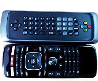 New 3D XRT303 Qwerty keyboard remote for VIZIO M3D550KDE M3D470KDE M3D550KD M3D650SV M3D550SL M3D470KD M3D550KD E3D320VX E...