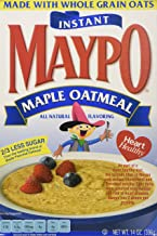 Maypo Oatmeal Inst Maple, 14 OZ Pack of 6