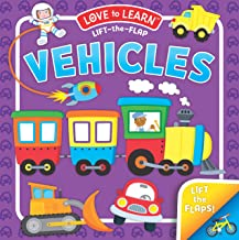 Lift-the-Flap Vehicles (Board Book)