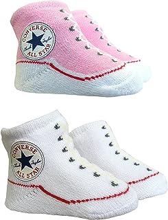 5cbbc1ad8c45b Amazon.fr   Converse - Chaussettes et collants   Bébé fille 0-24m ...