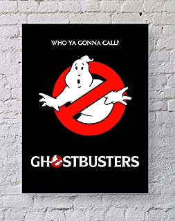 MeiMeiZ Ghostbusters Poster Standard Size   18-Inches by 24-Inches   Ghostbusters Who Ya Gonna Call? Posters Wall Poster Print