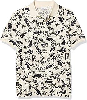 Boys' All Over Print Pique Polo Shirt