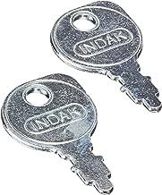 Stens 430-009 Starter Key Replaces Briggs & Stratton 691959 Kohler 48 340 01-S AYP 109310X MTD 925-0201 Husqvarna 532 12 21-47 Scag 48017-02 AYP 122147X Lesco 012649