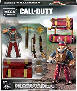 Mega Construx Call of Duty Armored Division Weapon Crate