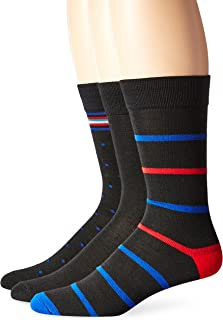 Men's 3-Pack X-Temp Crew Knit Dress Socks