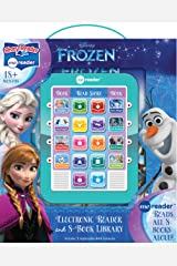 Disney Frozen Elsa, Anna, Olaf, and More! - Me Reader Electronic Reader and 8-Sound Book Library - PI Kids Hardcover