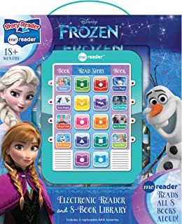 Best Disney Frozen Elsa, Anna, Olaf, and More! - Me Reader Electronic Reader and 8-Sound Book Library – Great Alternative to Toys for Christmas - PI Kids Review