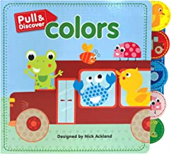 Pull & Discover: Colors - Children's Board Book - Educational