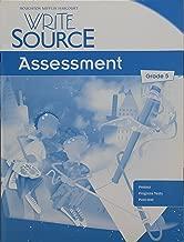 Write Source: Assessment Teacher's Edition Grade 5