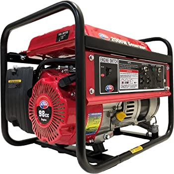 All Power America APG3014 2000 Watt Portable Generator 2000W Gas Powered, Compact Design