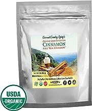 Organic Ceylon Cinnamon Powder Ground 1 lb, Raw, True Cinnamon from Ceylon, Premium Grade