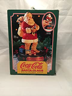 ERTL Coca-Cola Santa Claus Mechanical Christmas Bank