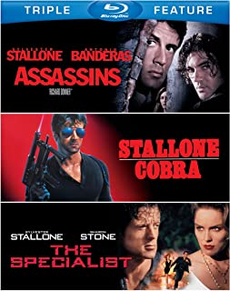 Assassins / Cobra / The Specialist (Triple Feature) [Blu-ray]