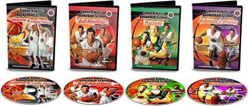 Ganon Baker's Basketball School Training DVDs - Learn From Ganon Baker Who Trains Top Pros And Athletes All Over The World - Learn How To Practice Shooting Like The Pros Do. - Beat Defenders Off the Dribble - Become a Precision Passer