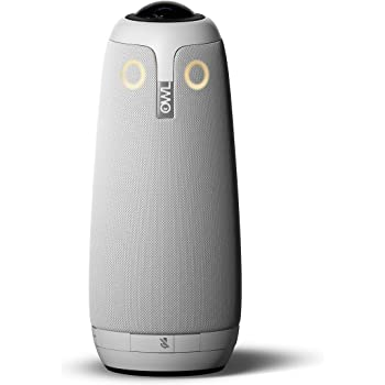 Meeting Owl Pro - 360 Degree, 1080p Smart Video Conference Camera, Microphone, and Speaker (Automatic Speaker Focus & Smart Meeting Room Enabled)