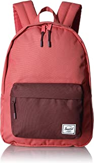 Herschel Classic Backpack, Mineral Red/Plum, Mid-Volume 18.0L