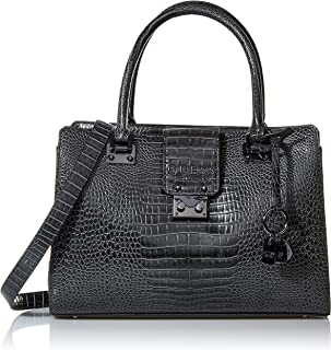 GUESS Women's Satchel Handbag, Graphite - CM743506