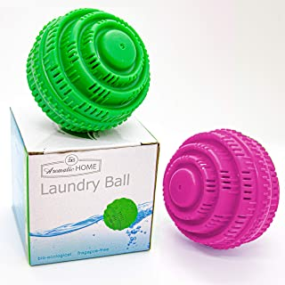 Sponsored Ad - Eco-Friendly Washer Laundry Balls, up to 2000 Washings, All Natural For Very Clean Laundry While avoiding t...