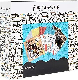 Friends Serie TV Kit Scrapbooking Avec Materiel, Coffret 60 Accessoires Pour Loisirs Créatifs Adultes Ado Ou Enfant avec A...
