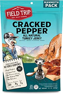 Sponsored Ad - Field Trip Turkey Jerky | Gluten Free Jerky, Low Carb, Healthy High Protein Snacks with No Nitrates, Made w...
