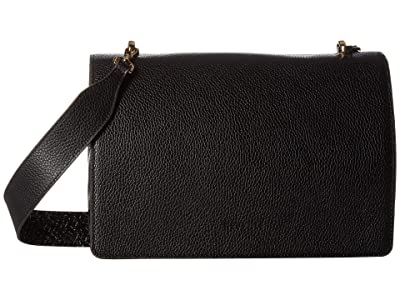 NEUVILLE Pepper Satchel (Black Grain) Handbags
