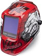 Welding Helmet, Polar Arc Graphic, Red