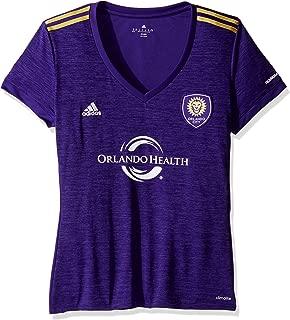 MLS Orlando City Adult Women Replica S/Wordmark Jersey,Large,Purple