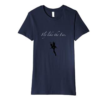 Womens Fly like the Fae Fairy Pixie T-shirt