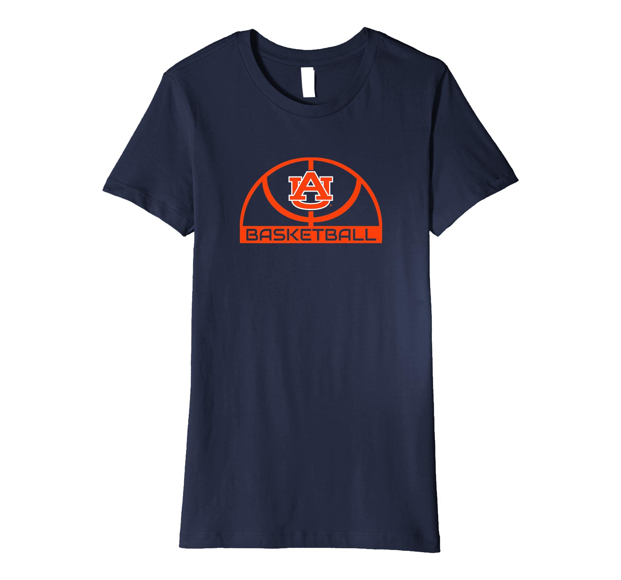 new product 39d89 f79e5 Amazon.com: Auburn Tigers Elite Basketball Shirt T-Shirt ...