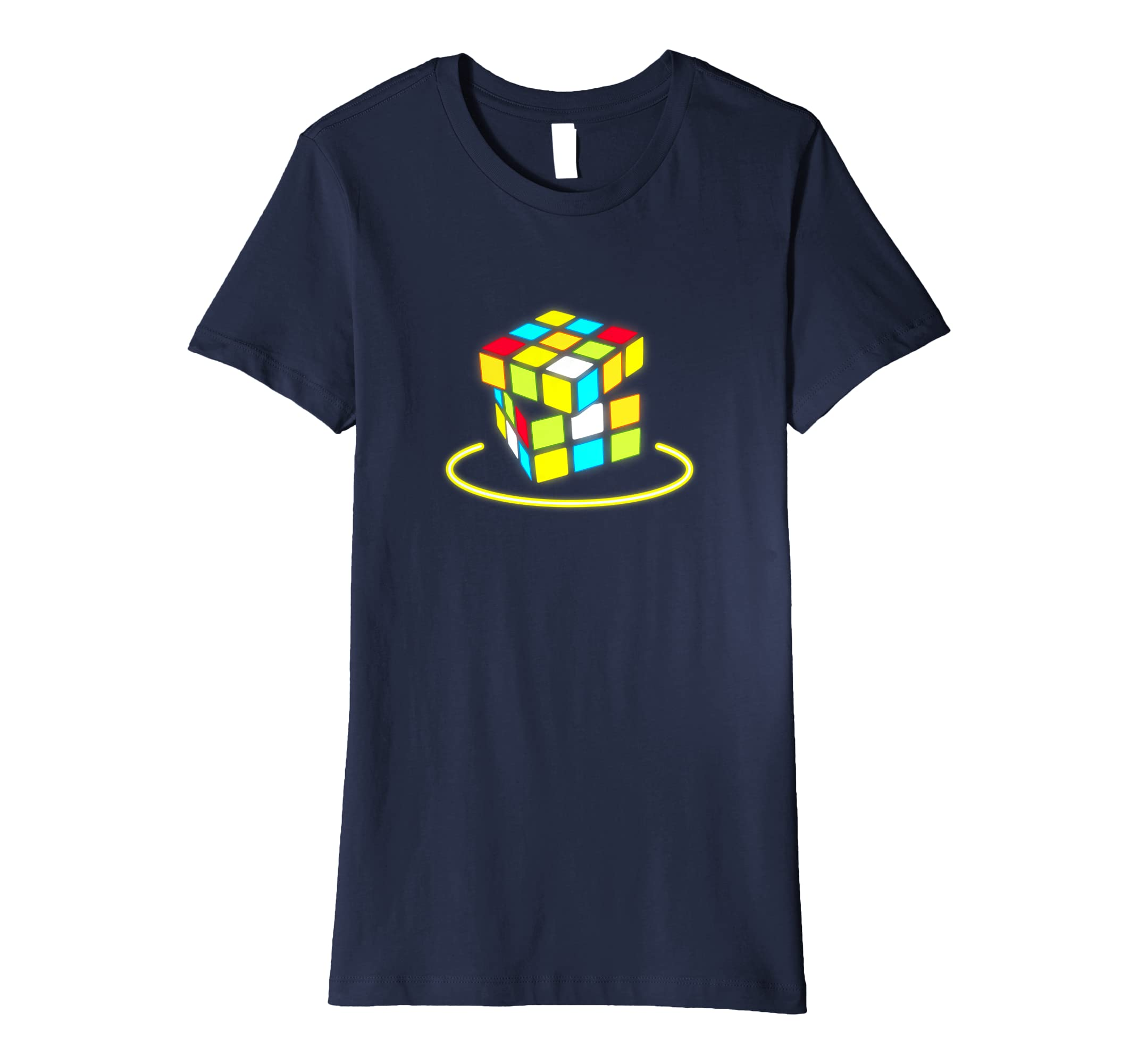 Amazon Com Retro Cube 80s Neon T Shirt 80s Clothes For Women Men