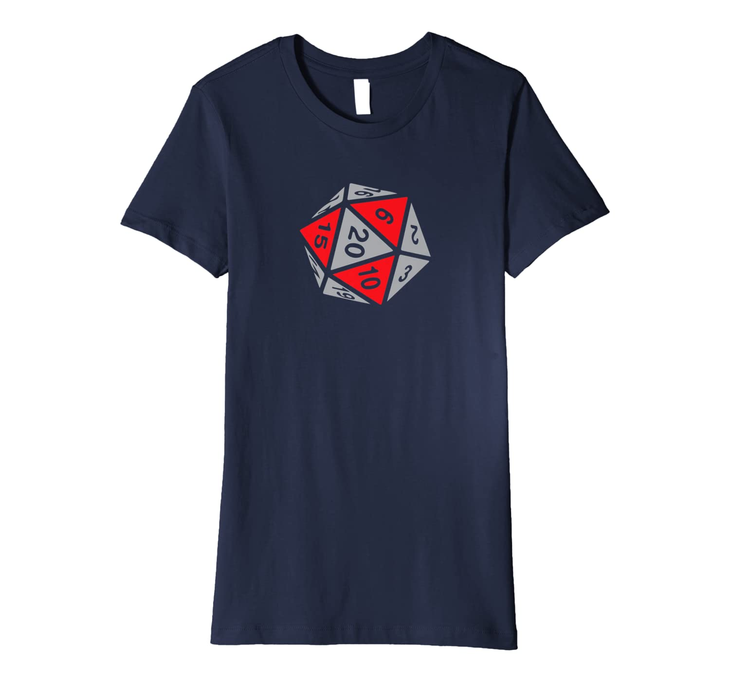 468446bd5 RPG Dice Shirt d20 | Blood and Stone Color Design at Amazon Men's Clothing  store: