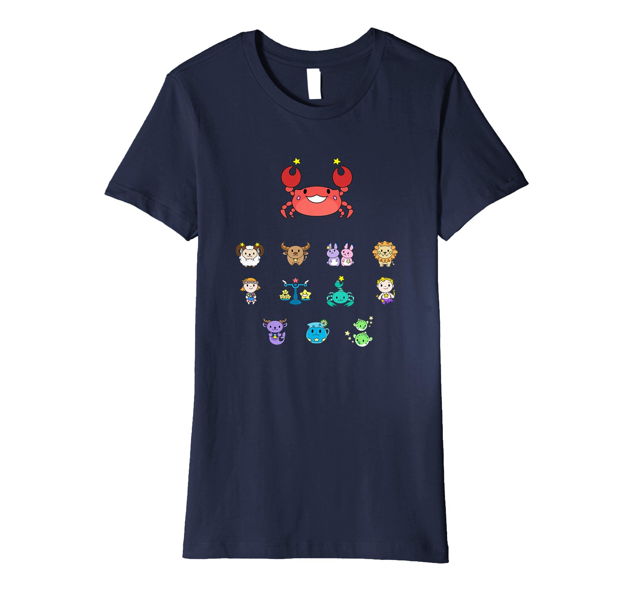 Amazon Cute Cancer Horoscope Astrology Zodiac T Shirt For Kids Clothing