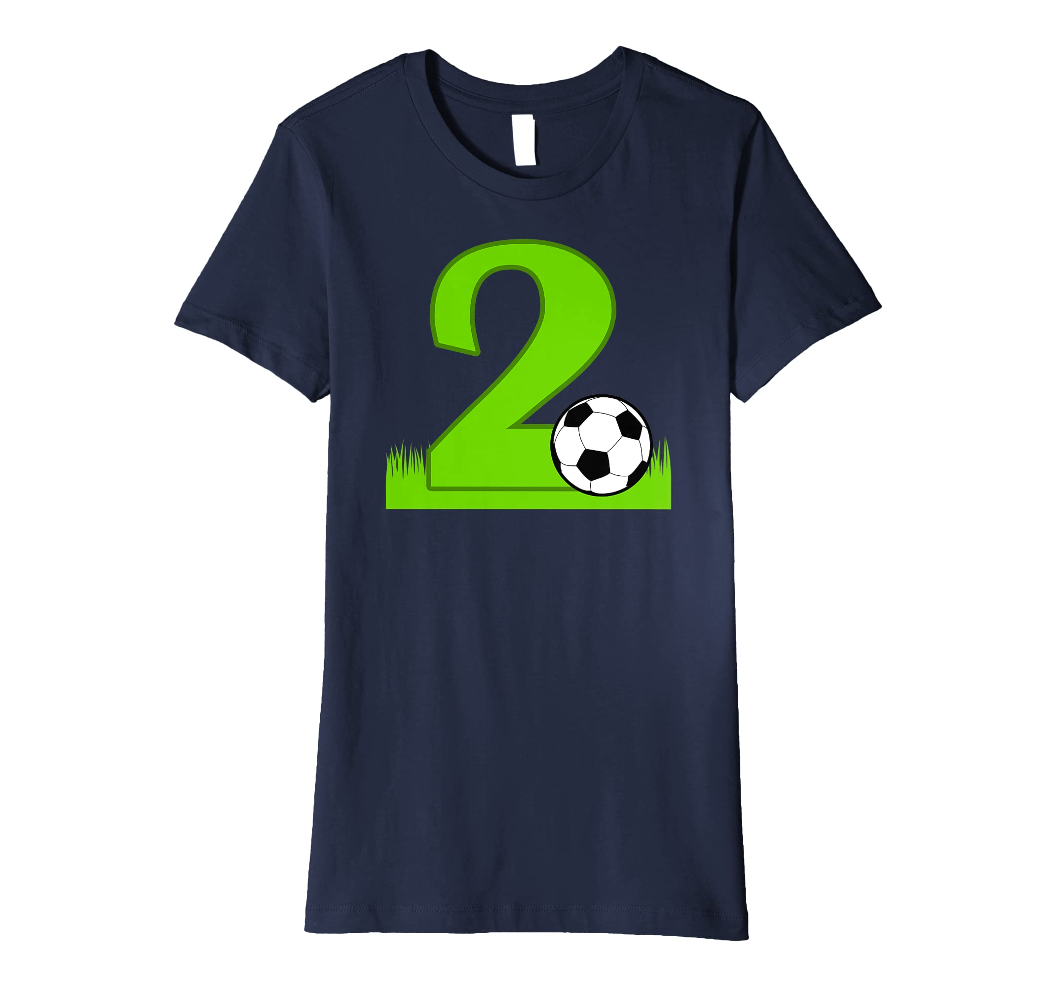 c376ecf5 Amazon.com: 2nd Birthday Soccer T-Shirt for 2 years old: Clothing