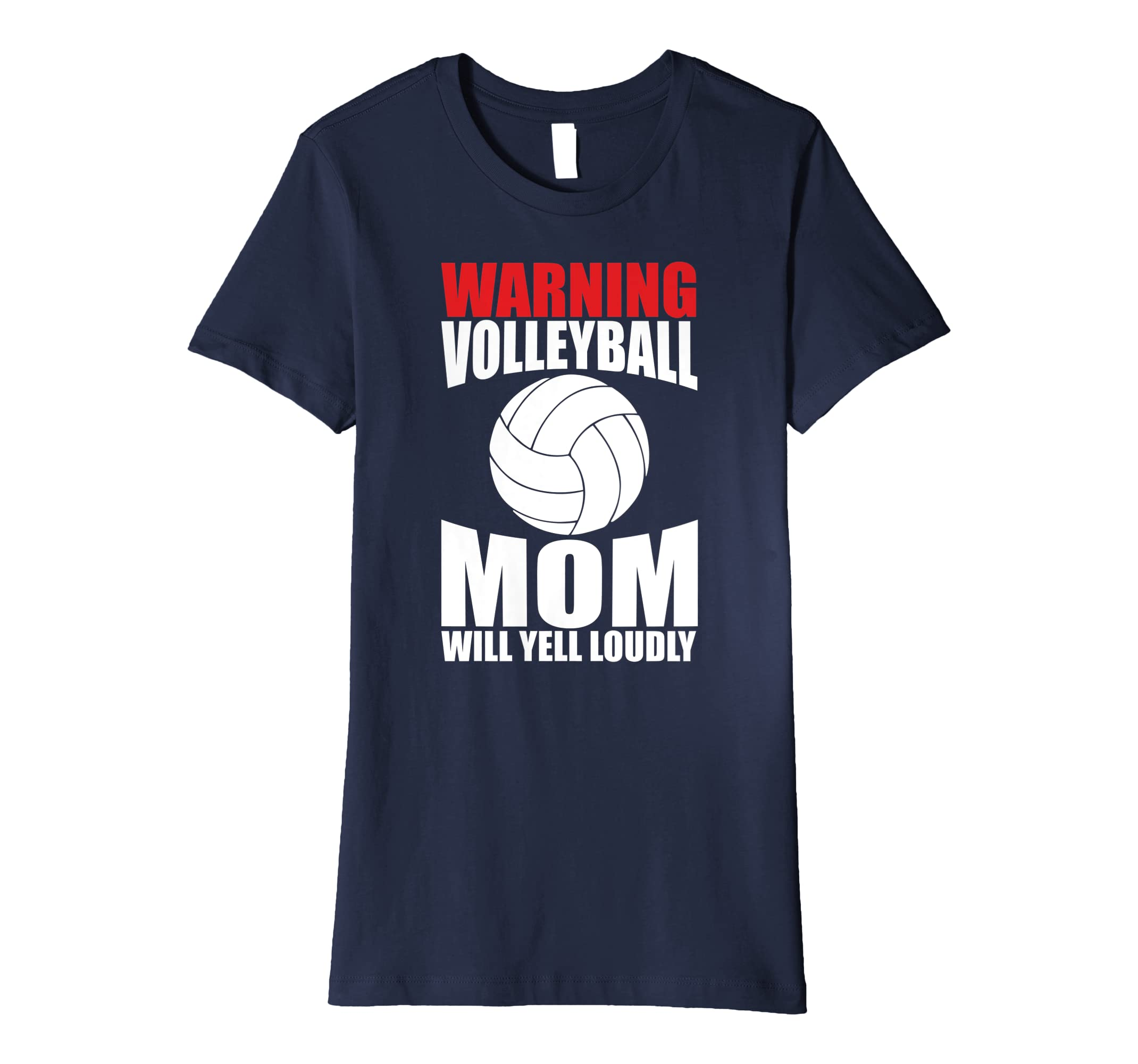 172fc3bea Amazon.com: Sports Shirts Volleyball Mom Tees Women Mother Mama Gifts:  Clothing