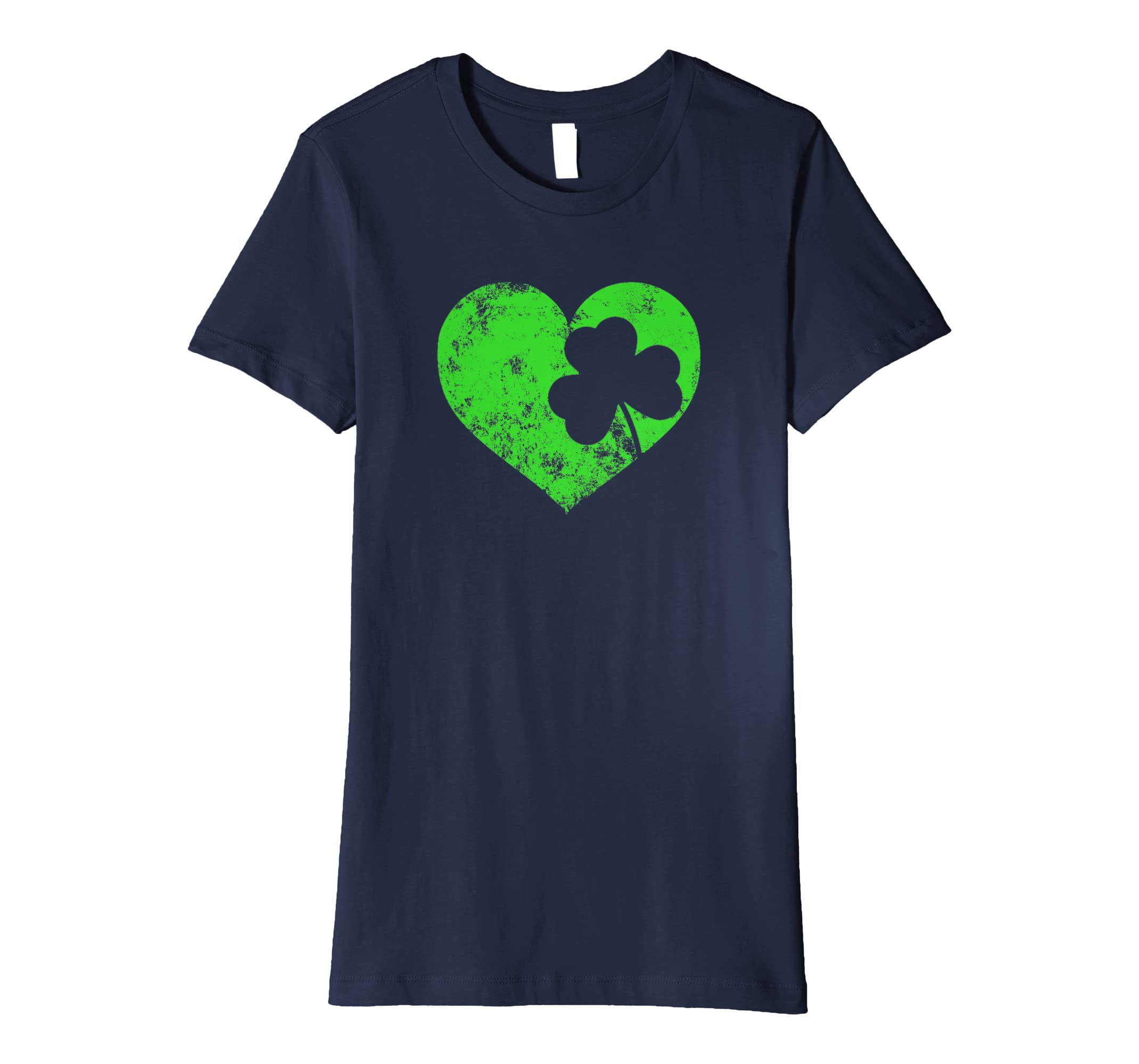 aee1a7935 Amazon.com: I Love St Patrick's Day T-Shirt Cute Heart Shamrock Top Tee:  Clothing