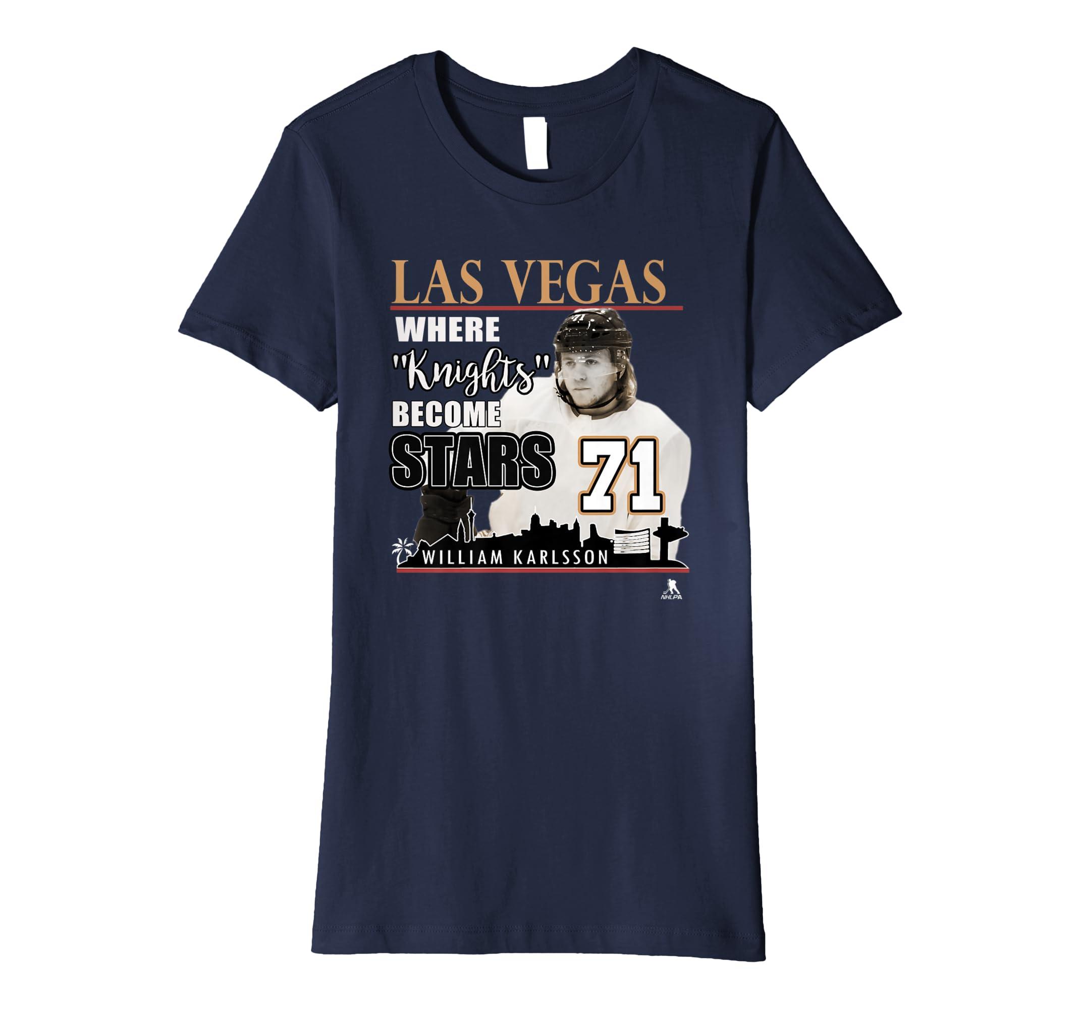 reputable site 42538 28bda Amazon.com: Las Vegas Golden Knights - William Karlsson T ...