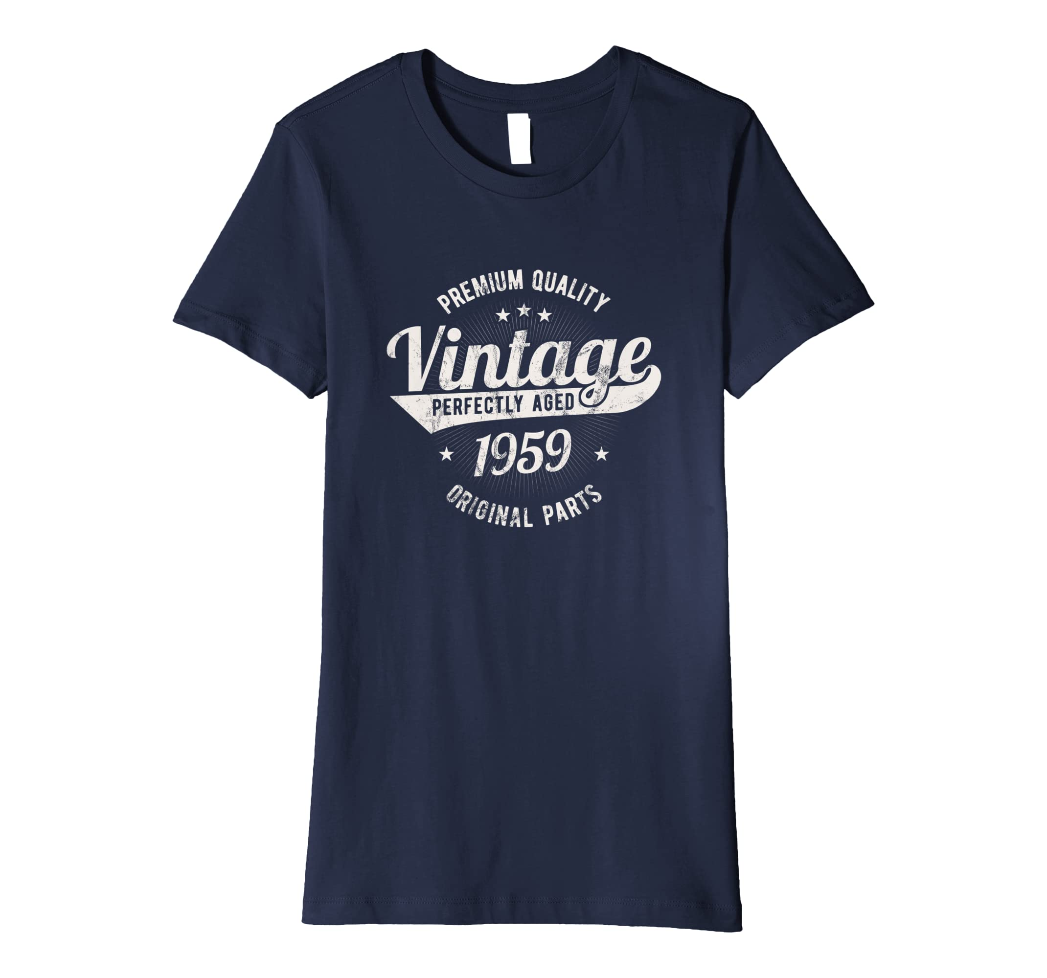6bf583e23 Vintage Est 1959 T-Shirt 60 Years Old 60th Birthday Gift: Amazon.co.uk:  Clothing