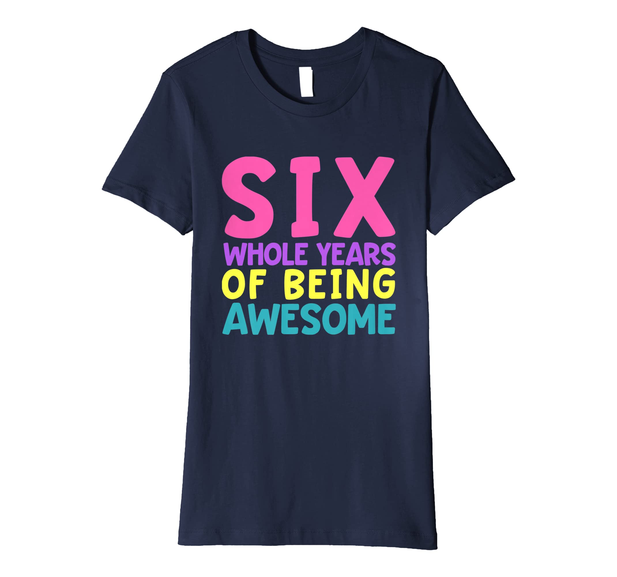 Amazon Sixth Birthday Shirt For Girls 6th Six Year Old Clothing