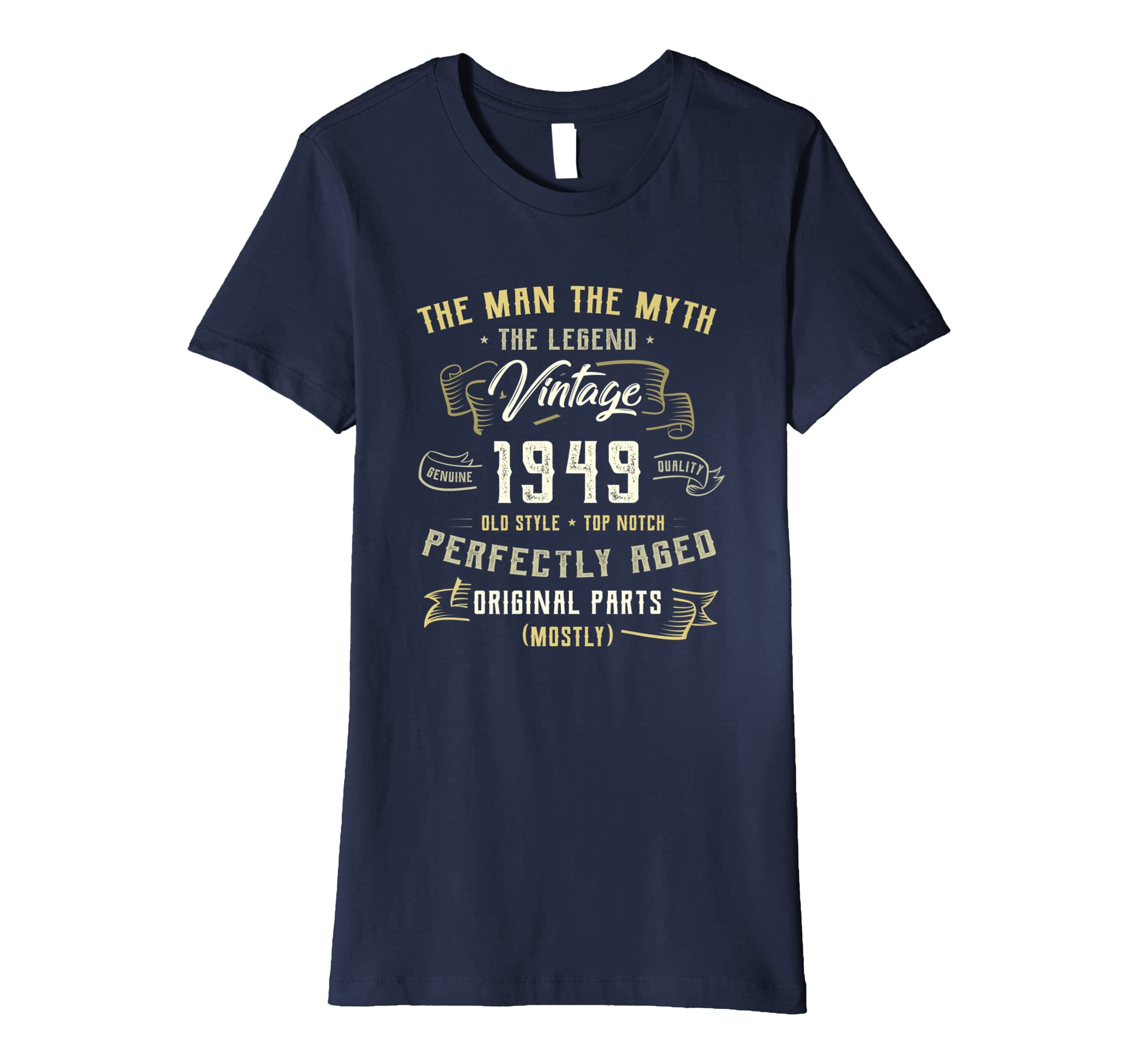 Amazon Made In 1949 Vintage 70th Birthday Shirt Gift P2 Clothing