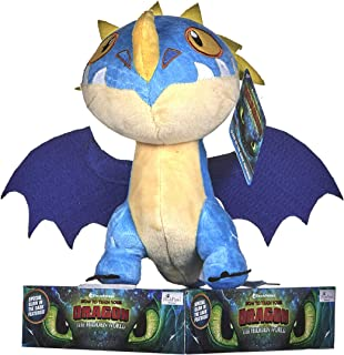 DreamWork How to Train Your Dragon 3 Storm Fly Soft Toy-32cm, Multi-Colour, 32 cm