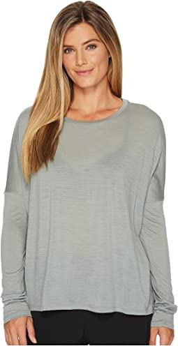 Icebreaker - Aria Merino Long Sleeve Scoop