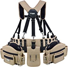 Jackson Palmer Professional Comfort-Rig Tool Belt With Suspenders (Adjustable System with..