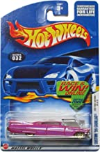 Hot Wheels 2002 First Edition Custom '59 Cadillac 20/42 #032 #32 Magenta 1:64 Scale by