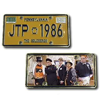 E-010 JTP Pennsylvania License Plate Challenge Coin The Goldbergs