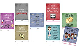 stranger things valentines day cards