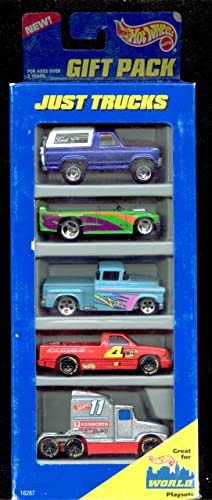 suministro de productos de calidad Hot Wheels 1996 Just Trucks Gift Pack Pack Pack 1 64 Scale  hasta 60% de descuento